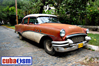 cuba autos .org - Buick, 1954, Century 4 Door Sedan, Havana