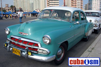 cuba autos .org - Chevrolet, 1954, Bel Air 4 door Sport Sedan, Havana