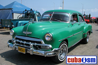 cuba autos .org - Chevrolet, 1954, Bel Air Sedan, Havana