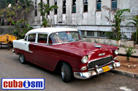 cuba autos .org - Chevrolet, 1955, 210 4 door Sport Sedan, Havana