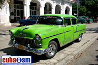 cuba autos .org - Chevrolet, 1955, 210 4 door Sport Sedan, Villa Clara