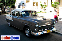 cuba autos .org - Chevrolet, 1955, 210 four door Sport Sedan, Havana