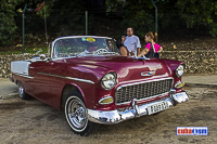 cuba autos .org - Chevrolet, 1955, Bel Air Convertible, Havana