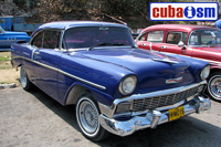 cuba autos .org - Chevrolet, 1956, 210 2 Door Sedan, Havana