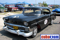 cuba autos .org - Chevrolet, 1956, Bel Air 4 Door Hard Top, Havana