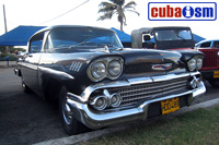 cuba autos .org - Chevrolet, 1958, Bel Air Sedan 4 door Sport Sedan, Havana