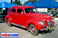 cuba autos .org - Ford, 1940, Deluxe Coupe, Havana