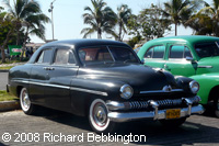 cuba autos .org - Mercury, 1951, 4 Door Sport Sedan, Havana